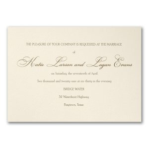 Haute Style Wedding Invitation Icon
