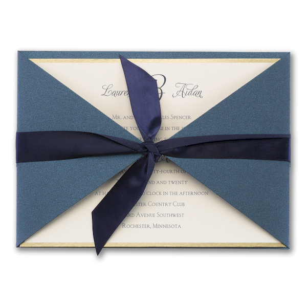 Joyful Brilliance Wedding Invitation