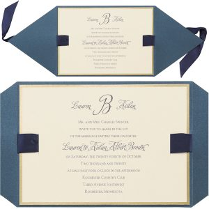 Joyful Brilliance Wedding Invitation alt