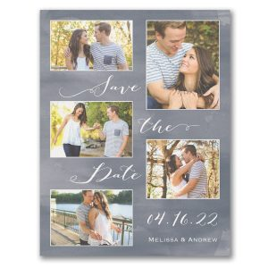 Joyous Romance Save the Date Magnet Icon