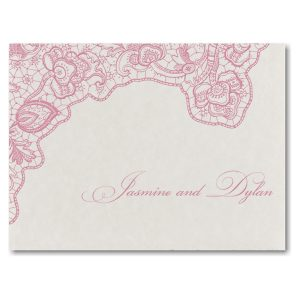 Lace Flourish Wedding Invitation Icon