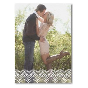 Lacy News Wedding Save the Date Card Icon