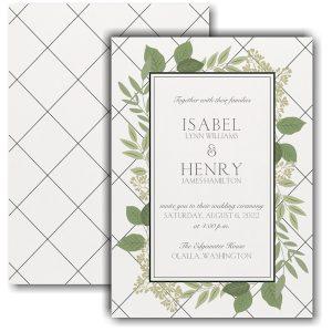 Lattice Love Wedding Invitation Icon