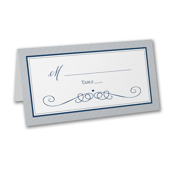 Love Tide Place Card