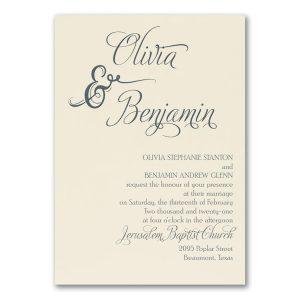 Love and Romance Wedding Invitation Icon