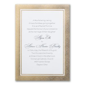 Lovely in Linen Anniversary Invitation Icon