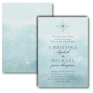 Love's Journey Wedding Invitation
