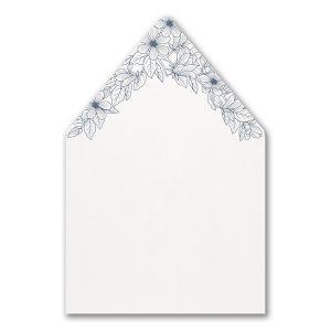 Lush Floral Envelope Liner