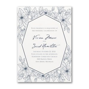 Lush Floral Wedding Invitation Icon