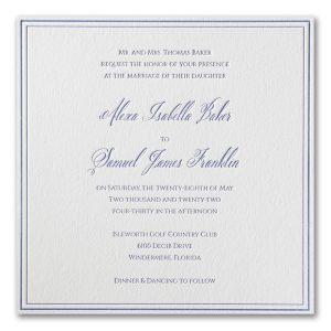 Luxurious Love Letterpress Wedding Invitation Icon