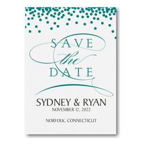 Magical Romance Save the Date Card Icon