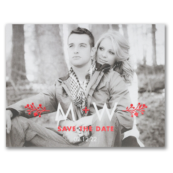 Magical Vines Save the Date Postcard