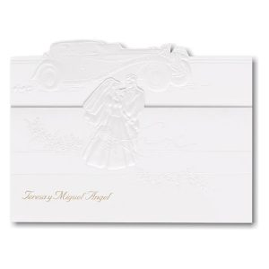 Married in Style Wedding Invitation Icon