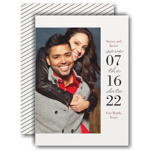 Modern Day Save the Date Card