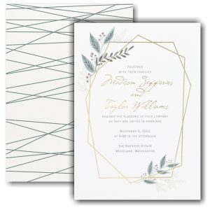 Naturally Beloved Wedding Invitation Icon