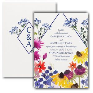 Nature's Beauty Wedding Invitation Icon