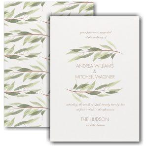 Nature's Touch Wedding Invitation Icon