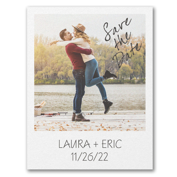 Our Bond Save the Date Postcard