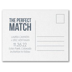 Our Bond Save the Date Postcard alt