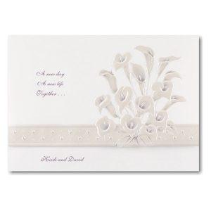 Passionate Lilies Wedding Invitation Icon