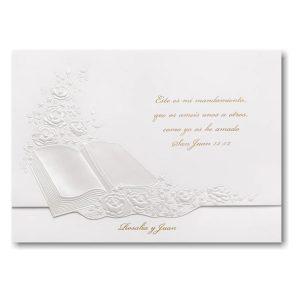 Perfect Love in Pearl Wedding Invitation Icon