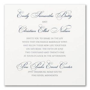 Perfect Sophistication Wedding Invitation Icon