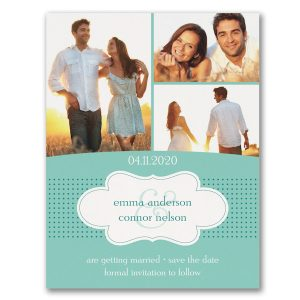 Photo Romance Save the Date Card Icon