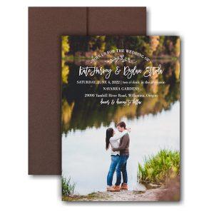 Picturesque Elegance Pocket Wedding Invitation Icon