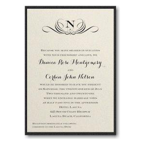 Preferential Design Layered Wedding Invitation Icon