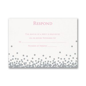 Raining Love Response Card