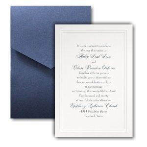 Refined Elegance Pocket Wedding Invitation Icon