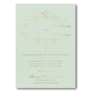 Regal Crest Wedding Invitation Icon