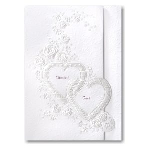 Romance and Roses Wedding Invitation Icon