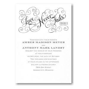 Romantic Promises in White Wedding Invitation Icon
