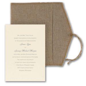 Rustic Love Letter Wedding Invitation Icon