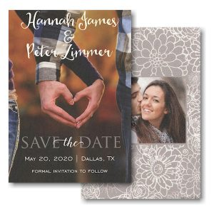 Save the Date Simple Vertical Save the Date Card Icon