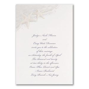 Seaside Love Wedding Invitation Icon