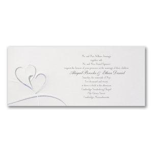 Shimmering Hearts Wedding Invitation Icon