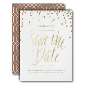 Shining Date Save the Date Card Icon