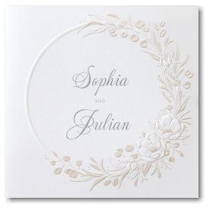 Shining Greenery Wedding Invitation Icon