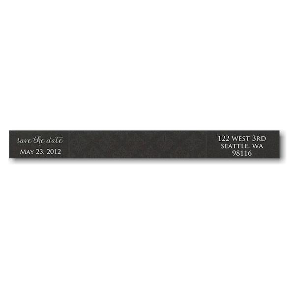 Simple Beauty Photo Skinny Address Label