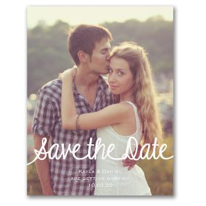 Simply Scripted Save the Date Magnet Icon