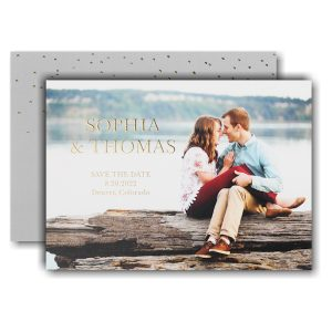 Simply Us Save the Date Card Icon