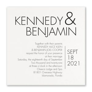 Simply in Love Wedding Invitation Icon