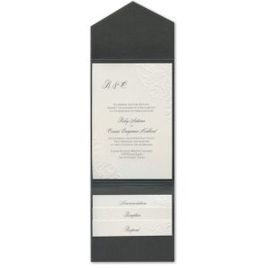 So Romantic Pocket Wedding Invitation