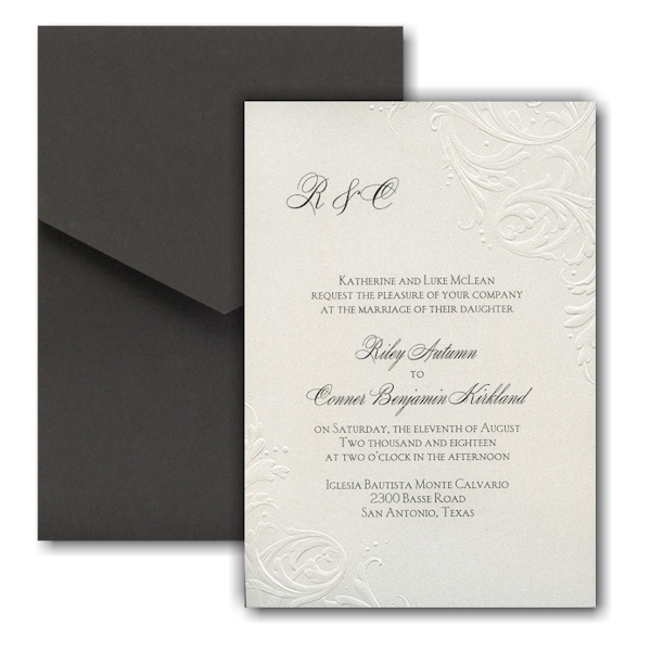 So Romantic Pocket Wedding Invitation Icon