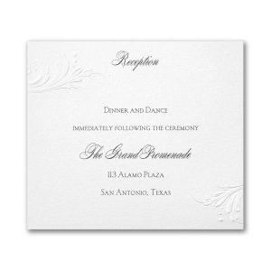 So Romantic Reception Card