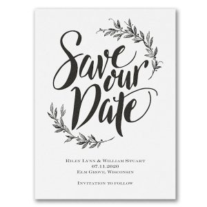 Special Day Save the Date Card Icon