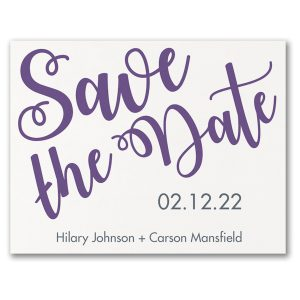 Special Romance Save the Date Card Icon