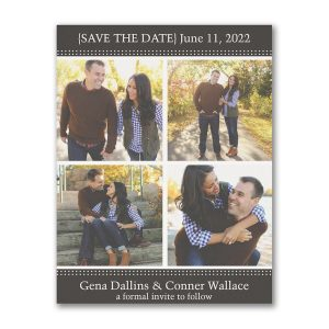 Storybook Romance Save the Date Magnet